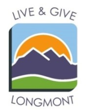 Live & Give Longmont website launched